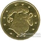 2 гривні 2008 рік Діва