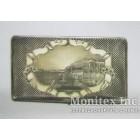 Серебряный портсигар с видом на Зимний дворец