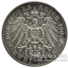 Серебряная монета 2 Марки 1901 год. Пруссия