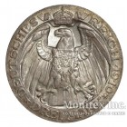 Серебряная монета 3 Марки 1910 год. Пруссия. 100-летие Берлинского университета