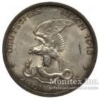 Серебряная монета 3 Марки 1913 год. Пруссия. 100-летие поражения Наполеона