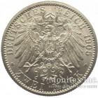 Серебряная монета 2 Марки 1905 год. Саксен-Кобург-Гота