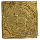Золотая монета 1 Дукат 1700 год. Нюрнберг