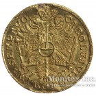 Золотая монета 1 Дукат 1727 год. Гамбург
