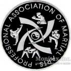Памятная настольная медаль Професиональные виды единоборств 2000-2002 год