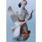 Статуэтка Девушка с лебедем