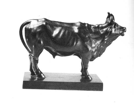 Литые статуэтки Касли