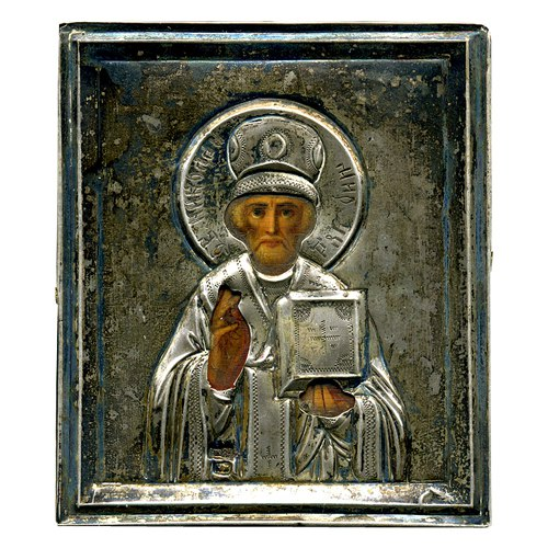 Серебряные иконы 84 проба