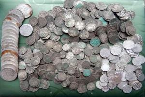 Как правильно почистить серебряные монеты времён Царской России
